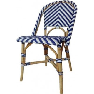 Silla London Chevron Azul