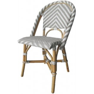 Silla London Chevron Gris