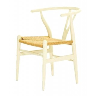Silla Wishbone White